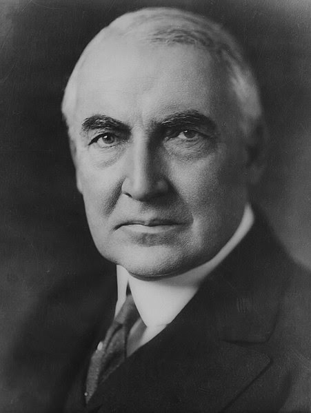 File:Warren G Harding portrait as senator June 1920.jpg