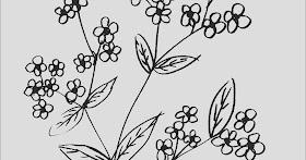 Sketsa Motif Batik Hewan Sederhana