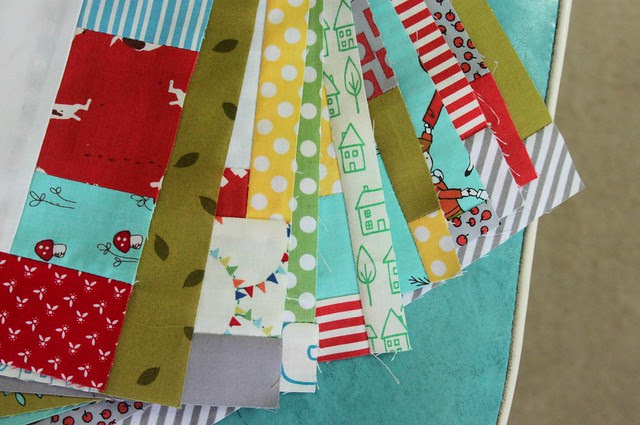 making quilt blocks