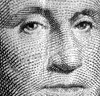 George Washington's face