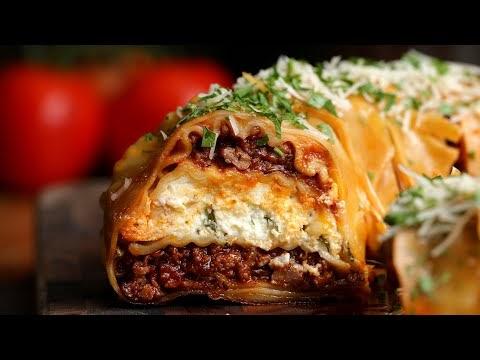 Tasty Lasagna Ring