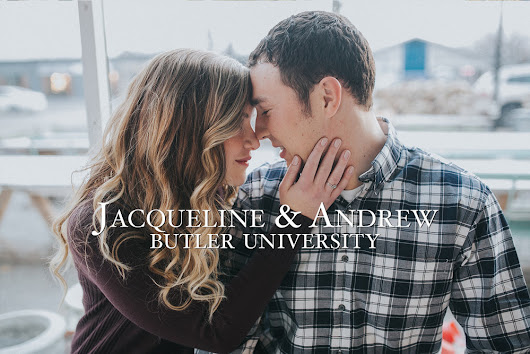 Locally Grown Gardens | Butler University Engagement Photos | Jacqueline & Andrew