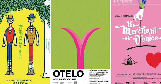 Stunning Shakespeare Posters From Around The World Prove The Bard Is Universal