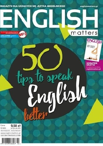 Okładka książki English Matters, 57/2016 (marzec/kwiecień)
