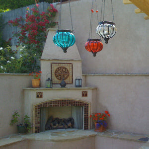 Enchanting Outdoor Living Space