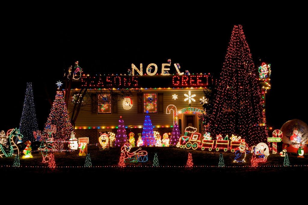 Christmas Lights On House Ideas