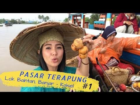 Buah Langka di Pasar Terapung Lok Baintan Banjar Kalsel