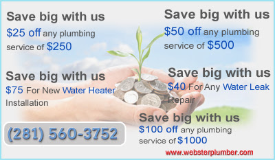 Plumber Webster - Install and Repair Water Heater