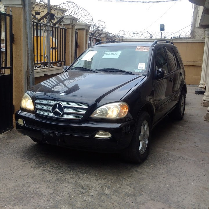 tokunbo 2003 Mercedes-benz Ml350...price 2.780