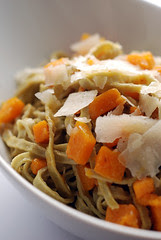 Mung Bean Fettucine with Pumpkin and Sage Burnt Butter Sauce© by Haalo