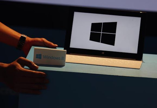 Microsoft Windows 8 lags predecessor in first-year sales