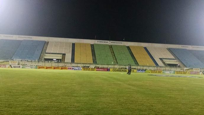 Estádio Domingão, em Horizonte  (Foto: Juscelino Filho)