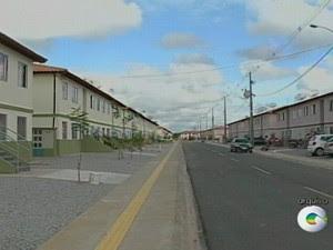 Residencial Monsenhor Bernardino em Petrolina (Foto: Reprodução/ TV Grande Rio)