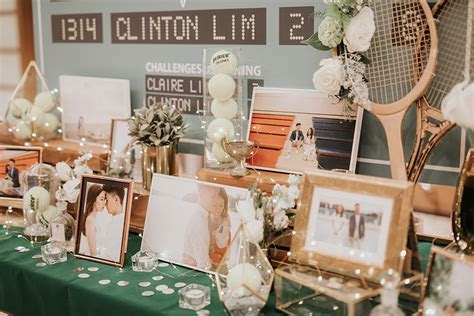 5 prettiest reception table decor from real weddings