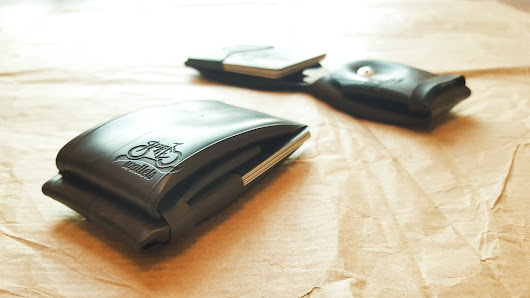 Tyred Wallet - A unique, minimalist, inner tube wallet