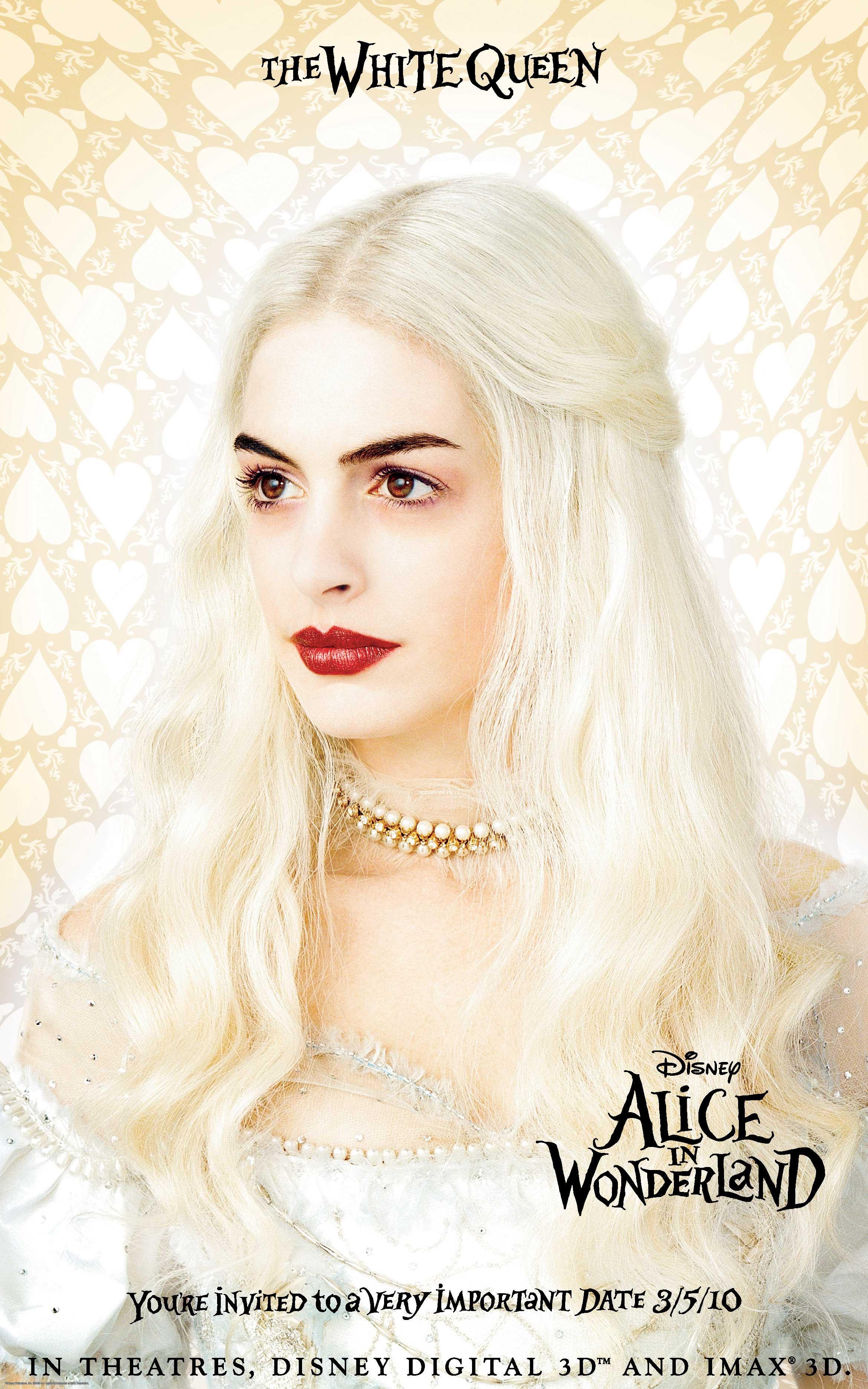 White Queen Alice In Wonderland Desktop Wallpaper