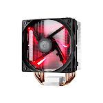 CoolerMaster Fan RR-212L-16PR-R1 Hyper 212 LED CPU Cooler for Intel/AMD Aluminum Heatpipe LED Red