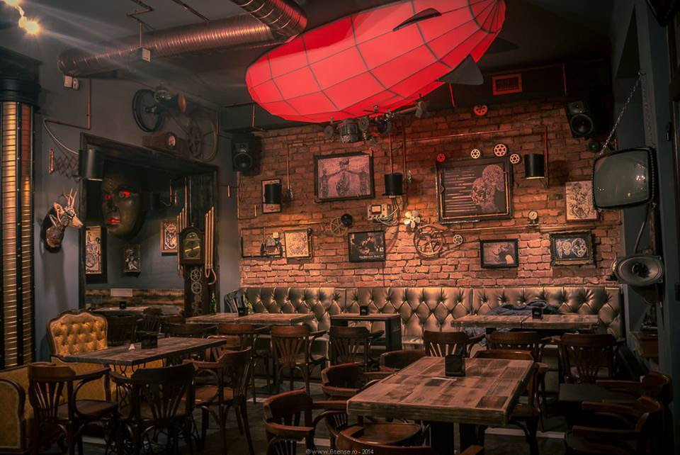 Geek Art Gallery: Interior Design: Steampunk Pub