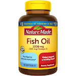 Nature Made Fish Oil 1000 mg Softgels - 90ct