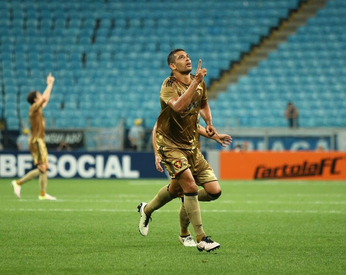 Diego Souza Grêmio x Sport (Foto: Williams Aguiar/Sport)