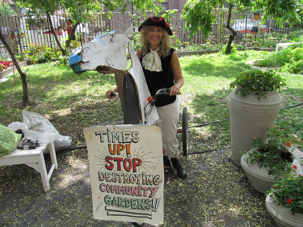 """Prop Making for Time's Up! """"Save the Gardens"""" Ride"""