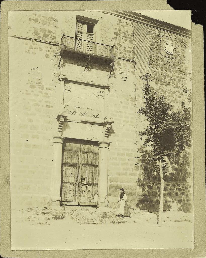 Palacio de Fuensalida a comienzos del siglo XX. Fotografía de Pedro Román Martínez. Centro de Estudios Juan de Mariana. Diputación de Toledo