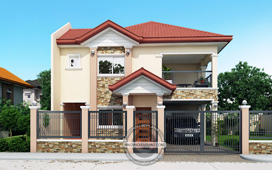 Contemporary House Plans Featuring Florante - Pinoy House Plans