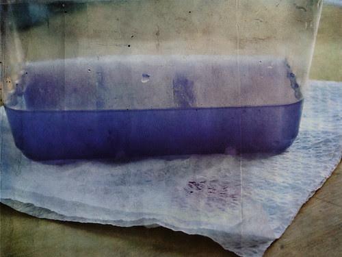 dye water