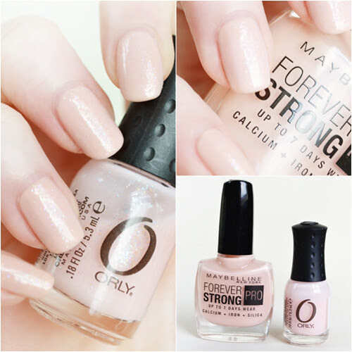 Orly Robo Romance nude nails