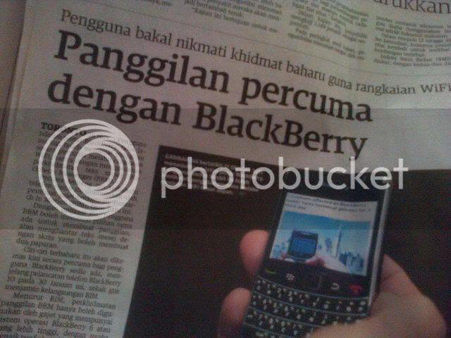 Panggilan Percuma Dengan Blackberry?
