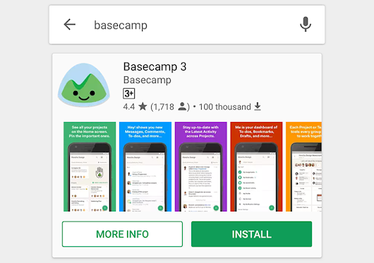 Play Store's large search results card is showing up for more users, now with scrollable screenshots