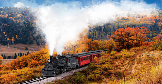 Scenic Train Rides for Fall Foliage Across America - Thrillist