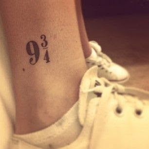 """If I was every going to get one, maybe this would be it. (From """"50 Incredible Tattoos Inspired By Books From Childhood"""")"""