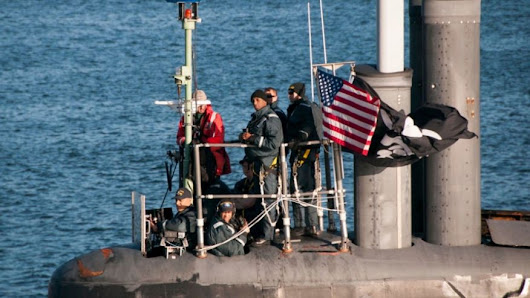 US nuclear sub returns flying pirate flag, sparking speculation - The Center News