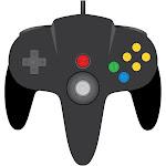 TeknoGame Wired N64 Controller - Black