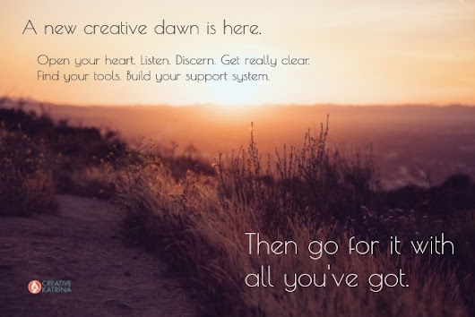 Wake Up to Your New Creative Dawn - Creative Katrina