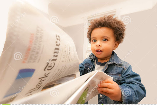 Happy Baby News Editorial Photography - Image: 46895697
