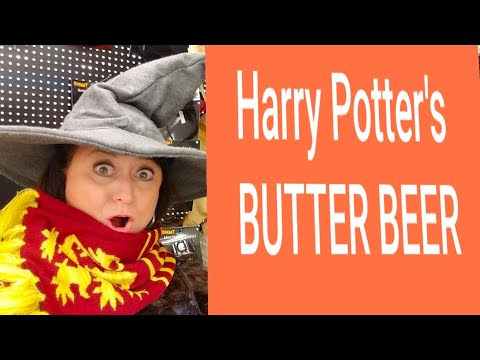 BUTTERBEER FOR POTTER HEADS, WIZARDS, & MUGGLES