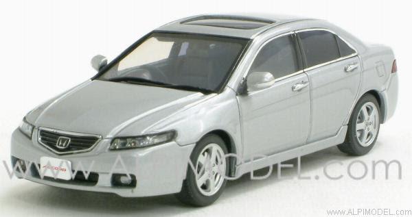 Honda Accord (Satin Silver metallic) by ebbro