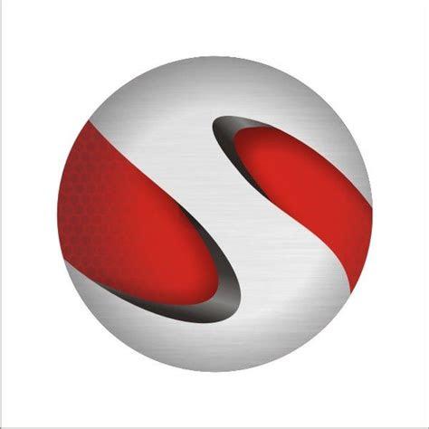 create  realistic  sphere logo  scratch