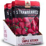 Wise Company Sliced Strawberries Freeze Dried 4.2oz/6ct