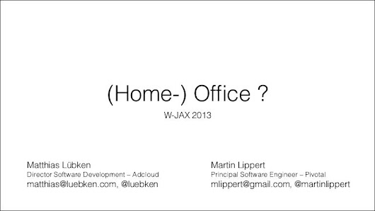 Home- (office) ?
