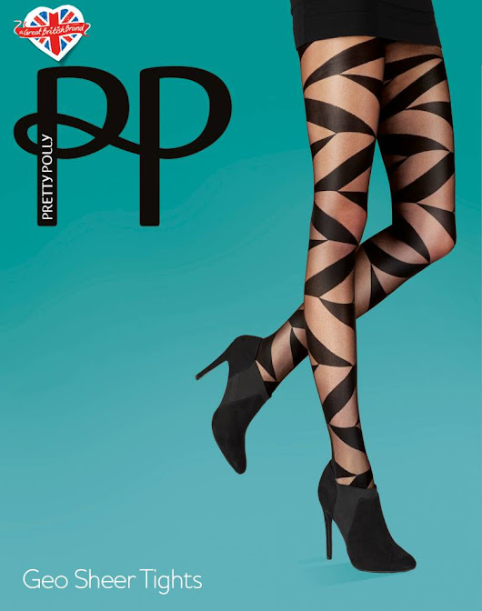 Pretty Polly Geo Sheer Tights - Sexychic.nl