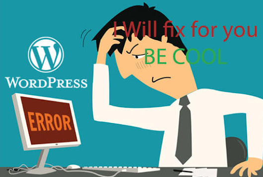 devloperweb : I will fix and customize your wp issues for $10 on www.fiverr.com