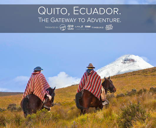 Win a all inclusive trip for 2 to Quito, Ecuador. The Gateway to Adventure!