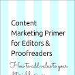 Book Review: Content Marketing Primer for Editors & Proofreaders by Louise Harnby