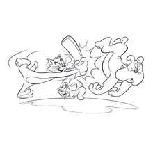 Coloriage Tom Et Jerry Coloriages Coloriage à Imprimer Gratuit