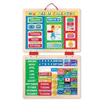 Toy-My First Daily Magnetic Calendar (90 Magnets) (Ages 3+)