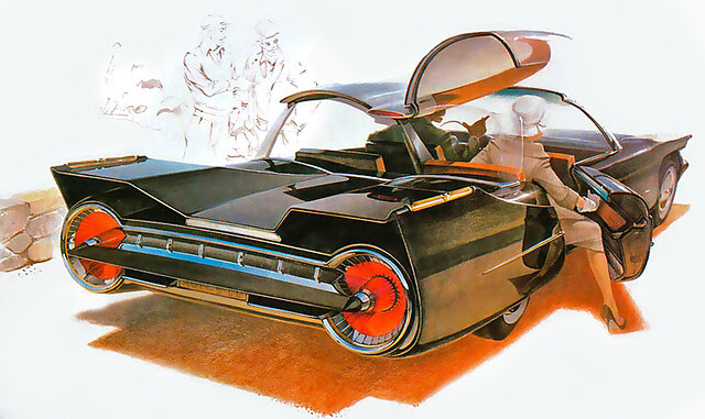 ... big tailights - Syd Mead