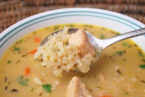 Instant Pot: Lemon Chicken Rice Soup